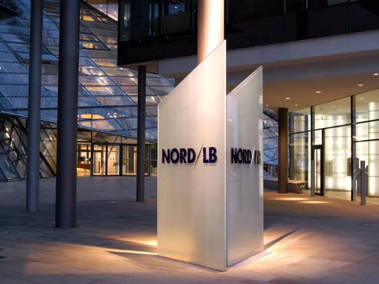 Der Eingang der Nord/LB.
