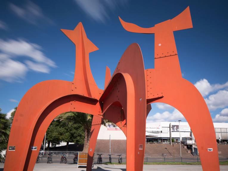Hellebardier am Maschsee-Nordufer von Alexander Calder