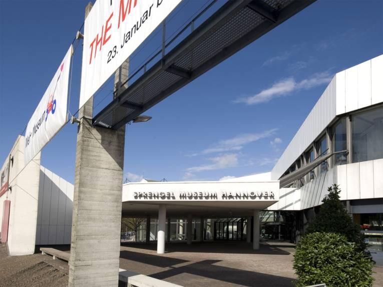 Eingang zum Sprengel Museum