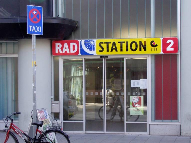 Die Radstation 2 in der Rundestraße