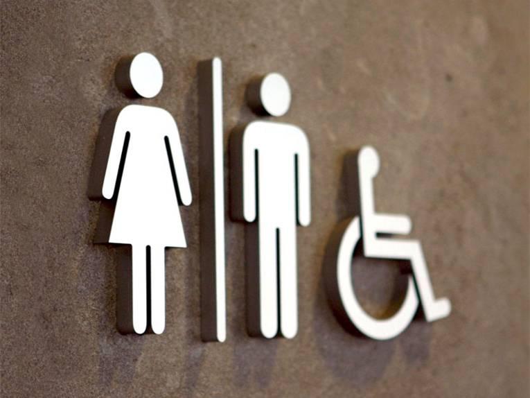 Symbol Toiletten