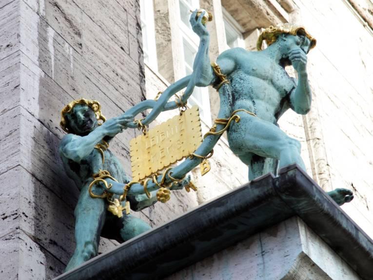 Brezelmänner mit Leibniz-Keks