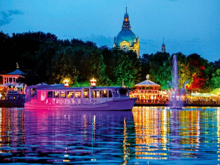 Abendstimmung am See.