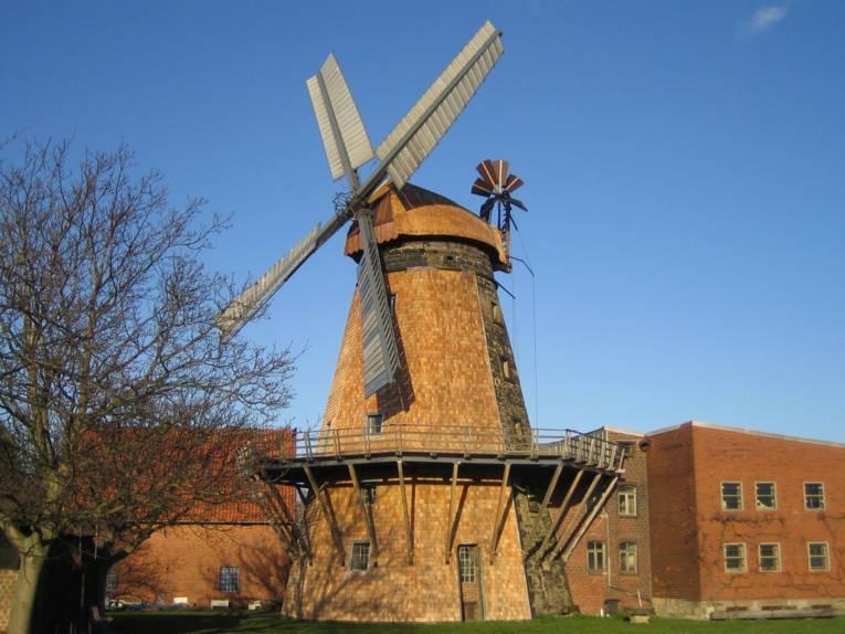 Foto: Windmühle Wichtringhausen.