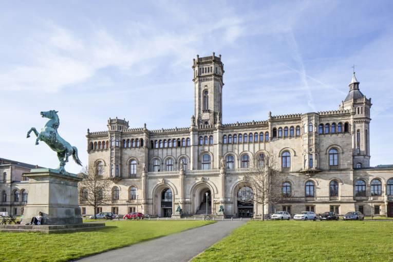 Schlossähnliches Gebäude