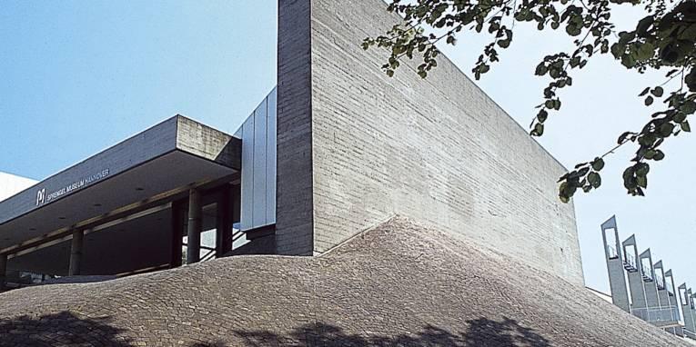 Gebäude aus Beton.
