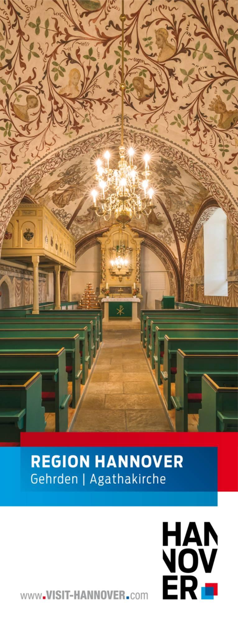 Gehrden präsentiert sich mit einem Motiv aus der Agathakirche.