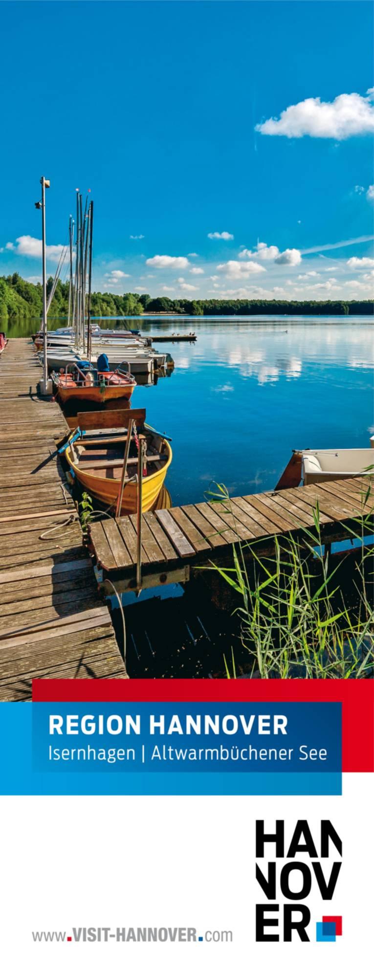 Isernhagen präsentiert sich mit einem Motiv des Altwarmbüchener Sees.
