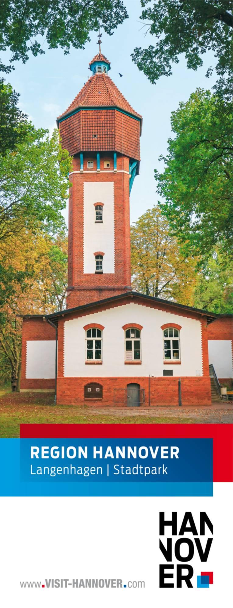 Langenhagen präsentiert sich mit einem Motiv des Stadtparks.