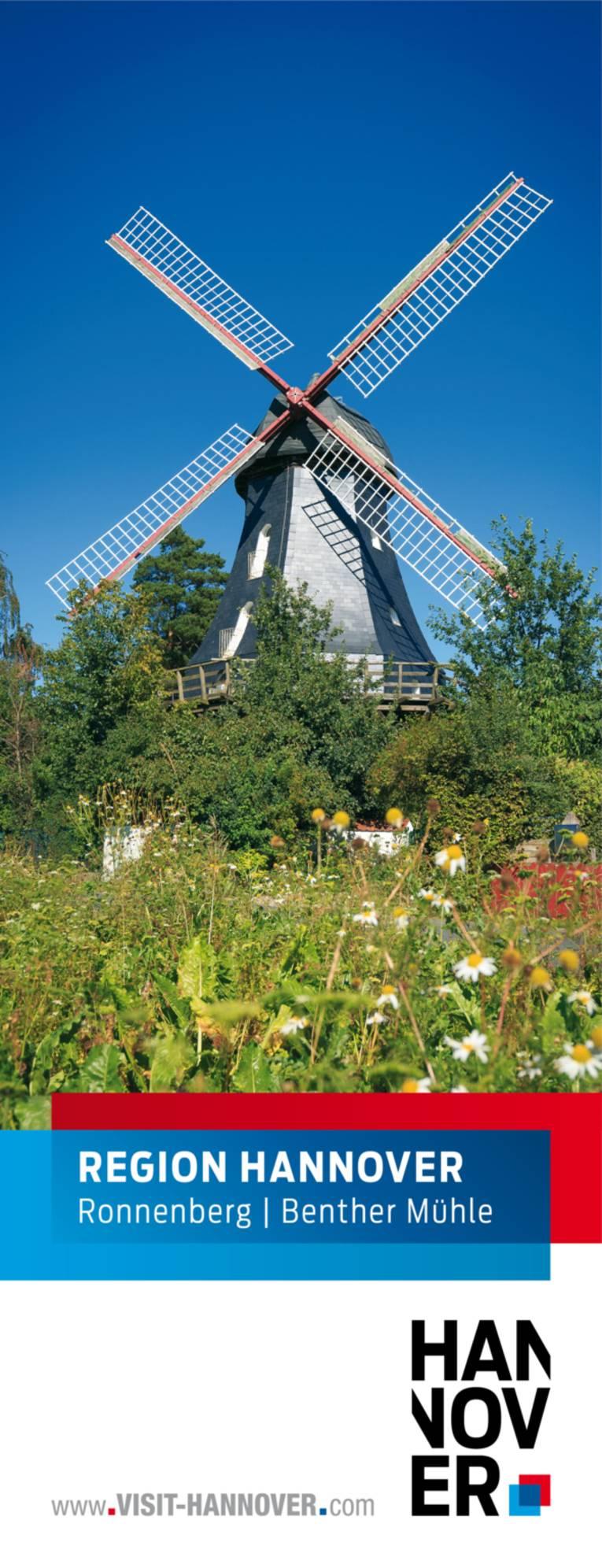 Ronnenberg präsentiert sich mit einem Motiv der Benther Mühle.