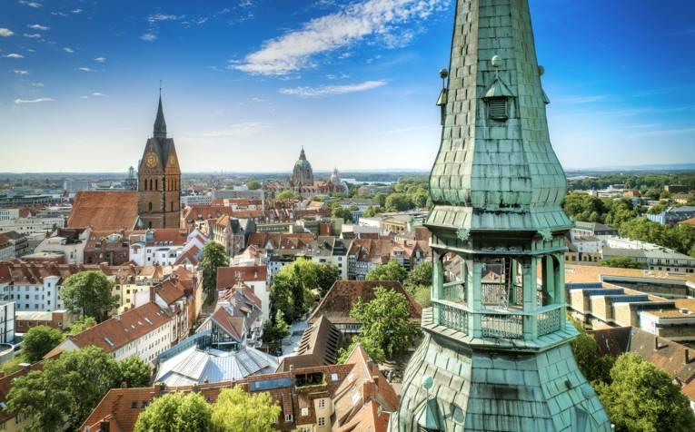 Blick über die hannoversche Altstadt
