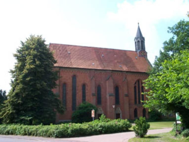 die Klosterkirche in Neustadt