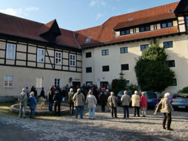 Blick in den Museumshof