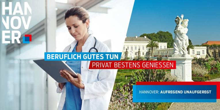 Hannover: Aufregend unaufgeregt - Fachkräfte Gesundheitswesen