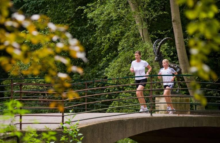 Jogger in Eilenriede