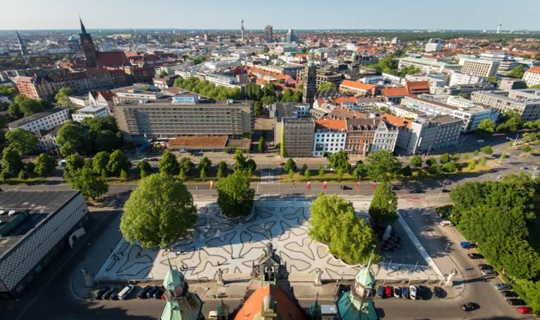 Aussicht Rathauskuppel