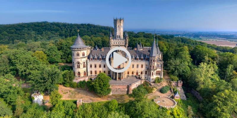 Das Schloss Marienburg in unseren 360° Touren.