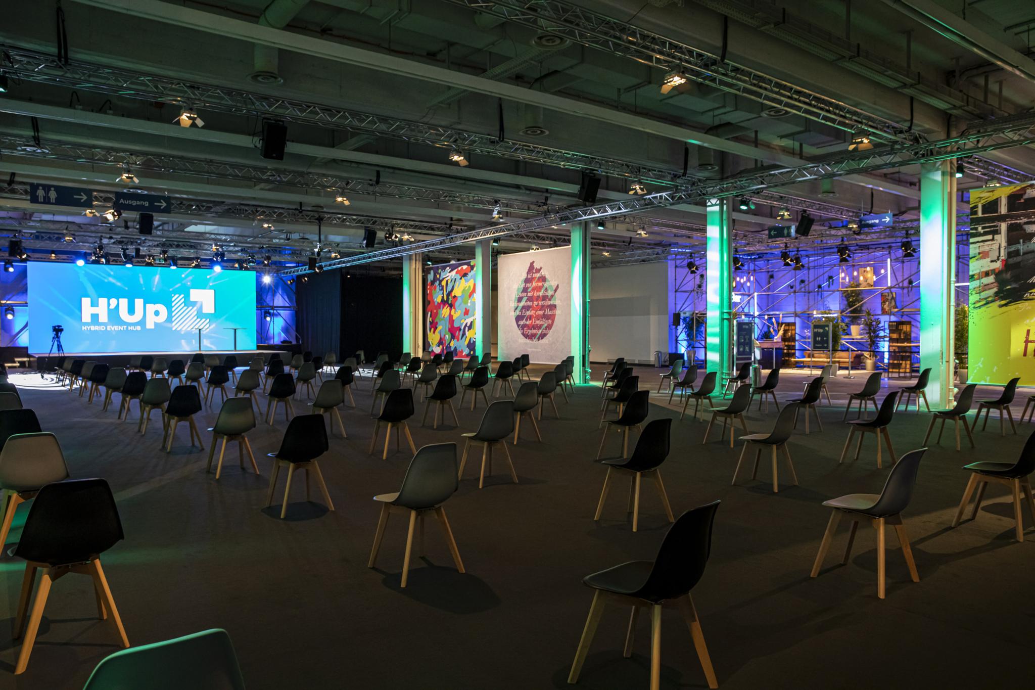 Hybrid Event Hub Hannover