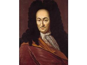 Portrait of Gottfried Wilhelm Leibniz