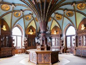 Library Marienburg Castle