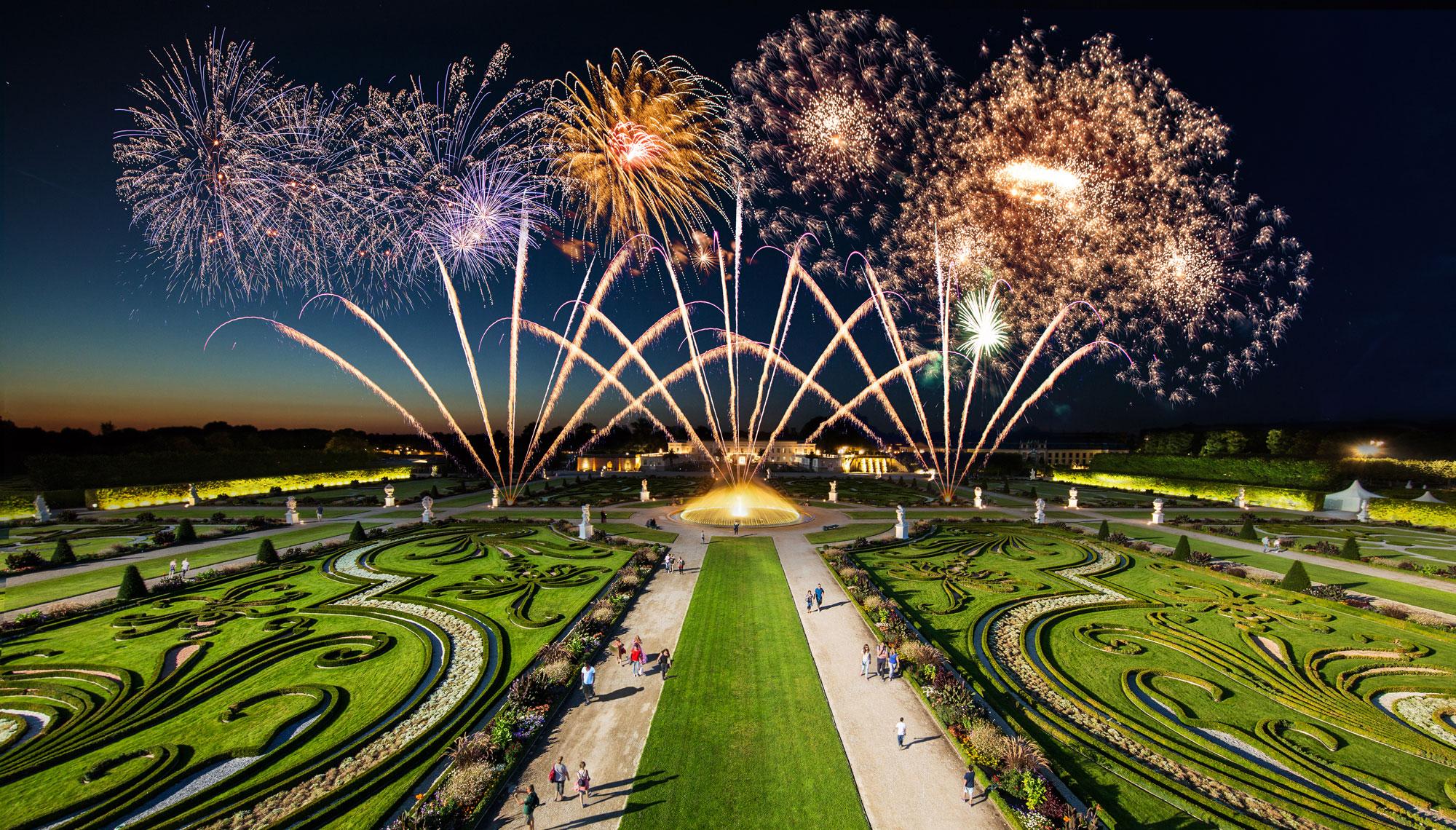 Royal Gardens Of Herrenhausen Hannover Timelapse Hannover