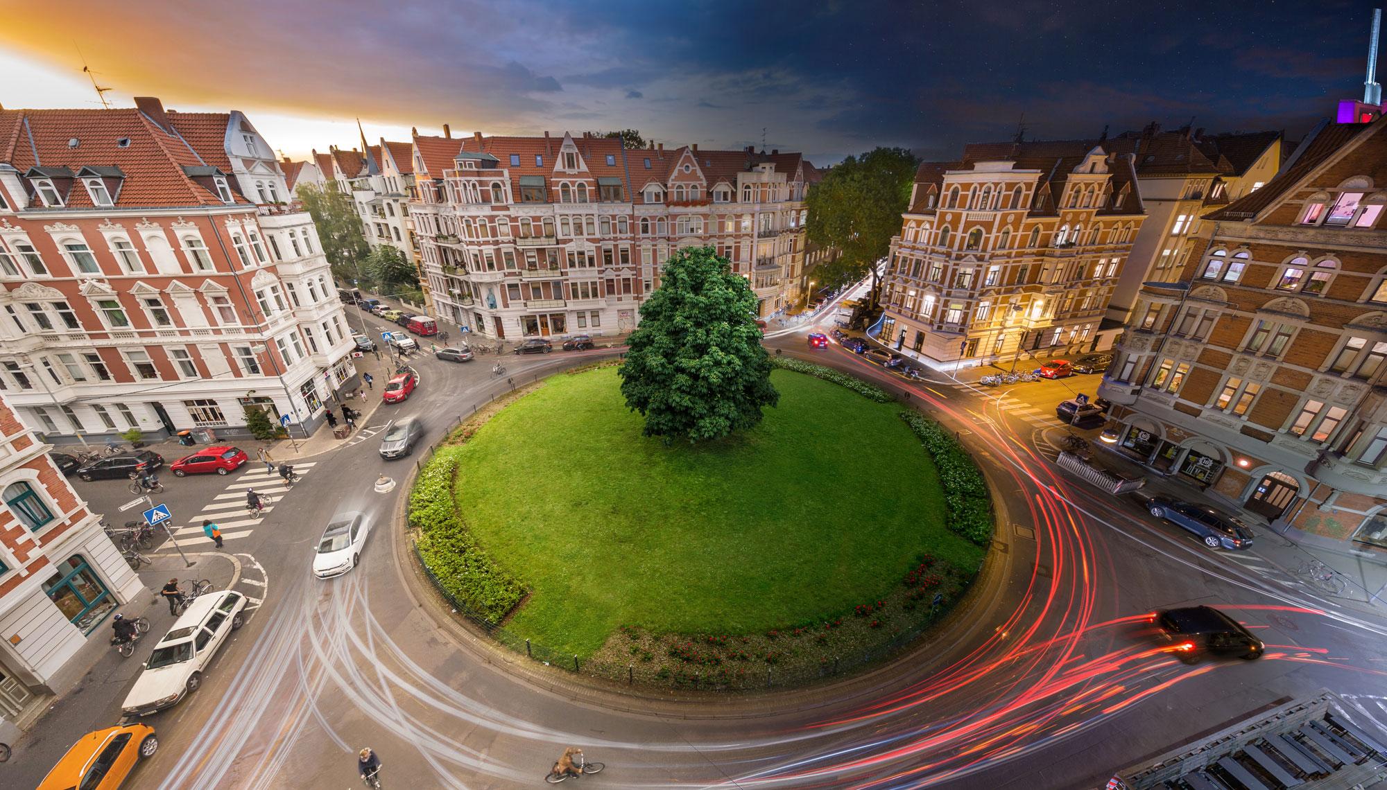 Lichtenbergplatz Linden Hannover Timelapse Hannover Timelapse