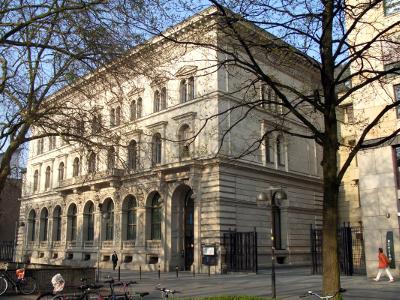 Außenaufnahme der Filiale der Deutschen Bundesbank in Hannover am Georgsplatz
