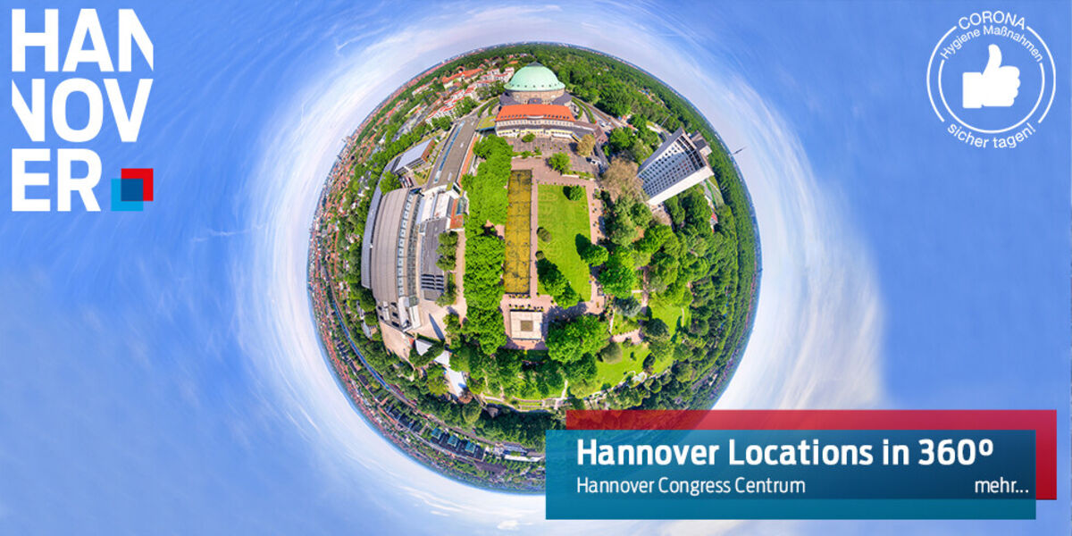Hannover Congress Centrum in 360°
