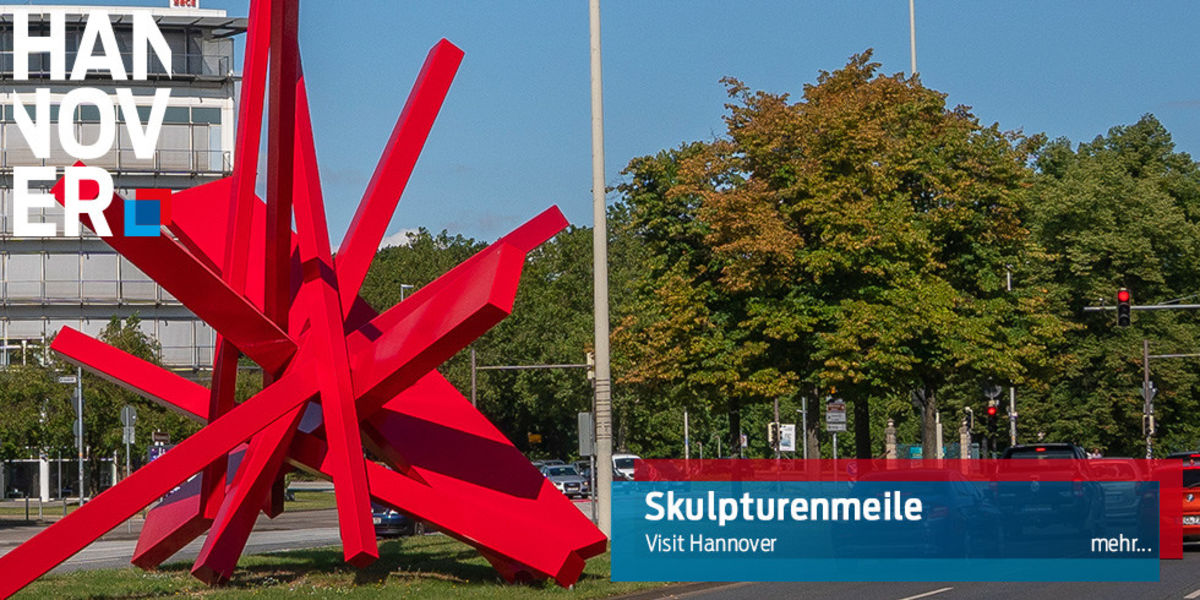 Skulturenmeile (Symphony in red)