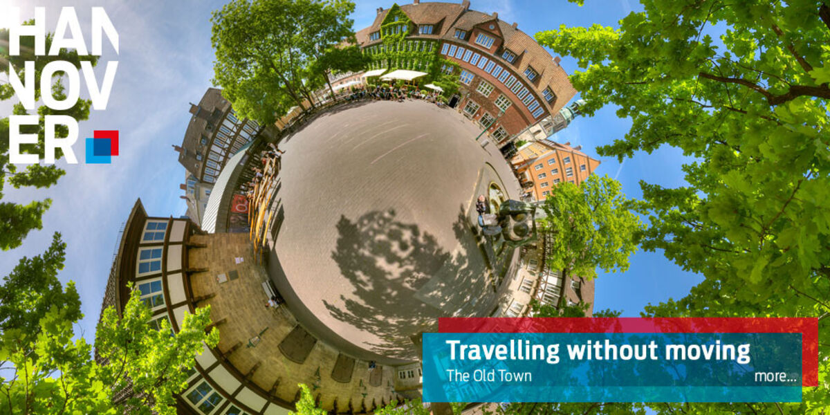 Old Town of Hannover 360°-tour