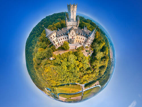 Schloss Marienburg in 360°