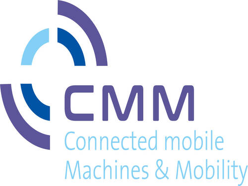 CMM – Connected mobile Machines and Mobility (Logo)