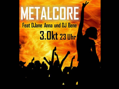 Escape Club - Metalcore Party am 03.10.