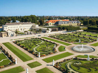 Great Garden with Herrenhausen Palace
