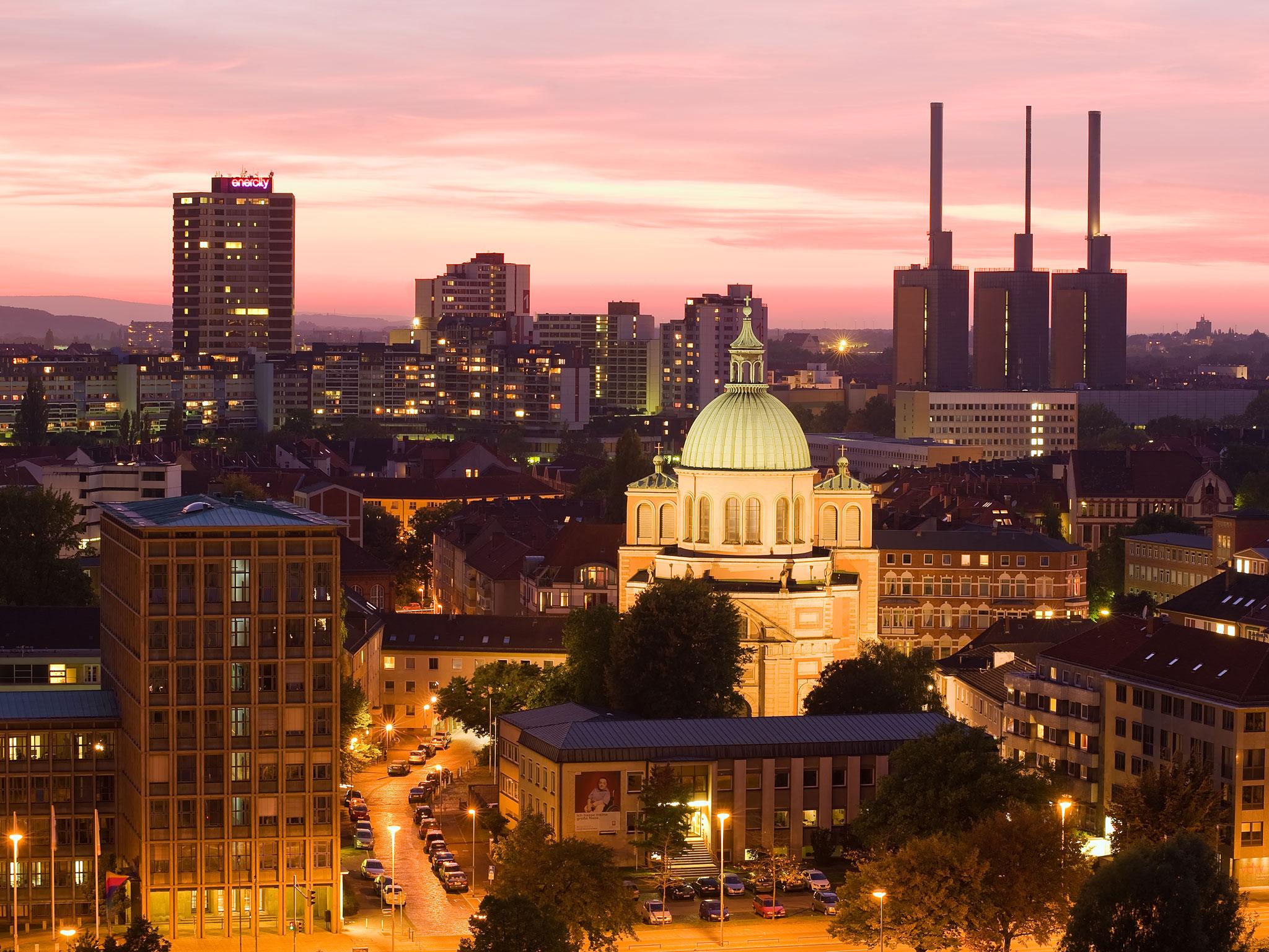 Blick über Hannover.