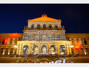 Staatsoper Hannover während der Night of Light