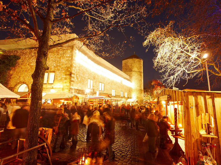 Christmas market in the historic old town of Hannover